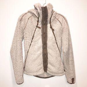 Kuhl Women's Zip Up Mock Neck Jacket with Hood